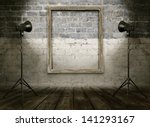vintage studio room  background