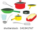 stylish colourful set of... | Shutterstock .eps vector #141341767