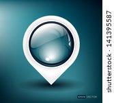 vector illustration of a glossy ... | Shutterstock .eps vector #141395587