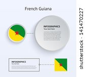 french guiana country set of...