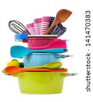 stacked cooking equipment multi ... | Shutterstock . vector #141470383