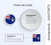 tristan da cunha country set of ...