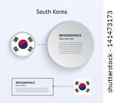 south korea country set of...