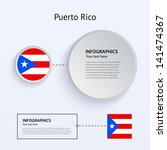 puerto rico country set of...