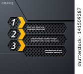 modern infographic  realistic...   Shutterstock .eps vector #141509287
