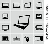 computers icons | Shutterstock .eps vector #141539053