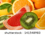 ripe fruit | Shutterstock . vector #141548983