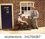 wetwang scarecrow festival ... | Shutterstock . vector #141706387