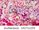 Floral Background. Lot Of...