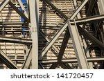 beams  bilbao  bizkaia  basque... | Shutterstock . vector #141720457