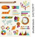 elements and icons of... | Shutterstock .eps vector #141722977