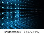 abstract business science or... | Shutterstock . vector #141727447