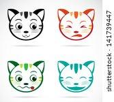 vector image of an cat face   Shutterstock .eps vector #141739447