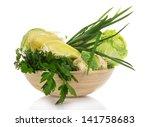 cabbage  sweet pepper  green...