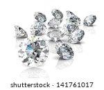 diamond jewel  high resolution... | Shutterstock . vector #141761017