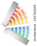 color palette guide isolated on ... | Shutterstock .eps vector #141762643