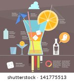 infographic. alcohol | Shutterstock .eps vector #141775513