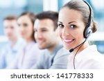 call center | Shutterstock . vector #141778333