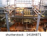 machinery  pipes  and boilers... | Shutterstock . vector #14184871