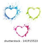 Beautiful Grunge Multicolored...