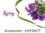 flowers isolated on white   Shutterstock . vector #141918577