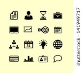 business icons | Shutterstock .eps vector #141949717