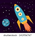 space explorations | Shutterstock .eps vector #141956767