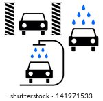 """car wash"" icons 