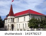 tongan parliament building in...   Shutterstock . vector #141978217