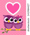 Cute Owls Couple With Love...