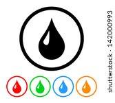 blood drop health   medical... | Shutterstock .eps vector #142000993