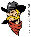 adventure,bull,cartoon,club,country,cowboy,desert,fighter,hard,hat,hero,horse,hot,illustration,isolated