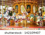 Carousel In A Square In...