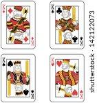 Four Kings. Original Design