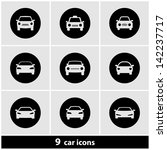 car icon set | Shutterstock .eps vector #142237717