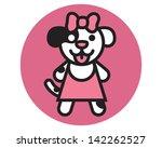 mrs puppy | Shutterstock .eps vector #142262527
