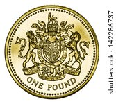Great Britain One Pound Coin...