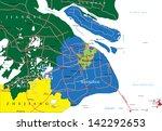 shanghai map   Shutterstock .eps vector #142292653