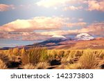 high mountains in bolivia | Shutterstock . vector #142373803