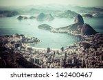 rio de janeiro  brazil. suggar... | Shutterstock . vector #142400467