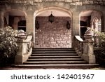 Stone Steps And Entryway To...