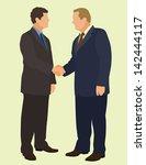 handshake | Shutterstock .eps vector #142444117