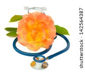 health care concept   blue... | Shutterstock . vector #142564387
