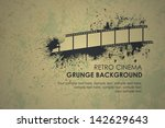 abstract grunge retro...