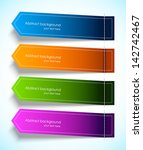 set of colorful tags | Shutterstock .eps vector #142742467