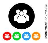 business team icon | Shutterstock .eps vector #142746613