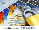 creative mobile banking ... | Shutterstock . vector #142749337