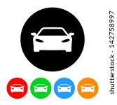 car automobile icon | Shutterstock .eps vector #142758997