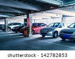 Parking Garage  Interior With ...