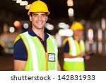 portrait of smiling young... | Shutterstock . vector #142831933